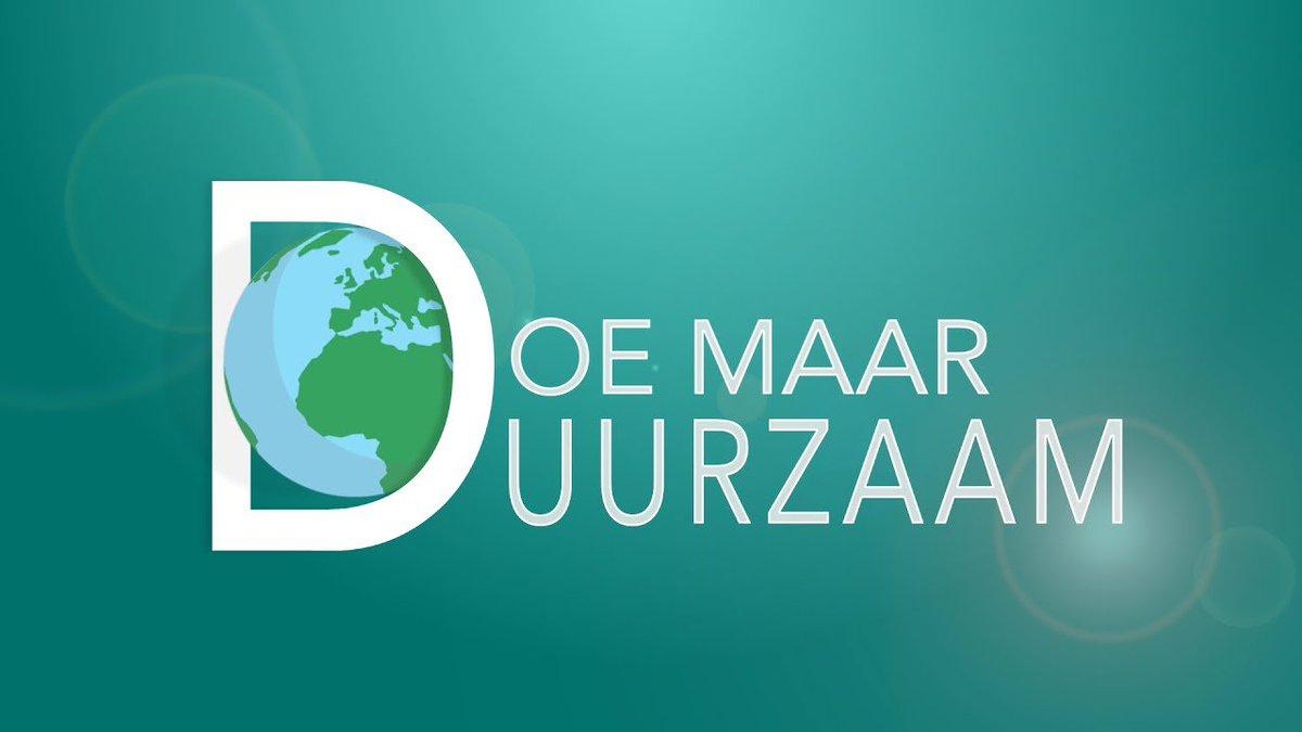 TV-PROGRAMMA 'DOE MAAR DUURZAAM' PRESENTEERT OWA