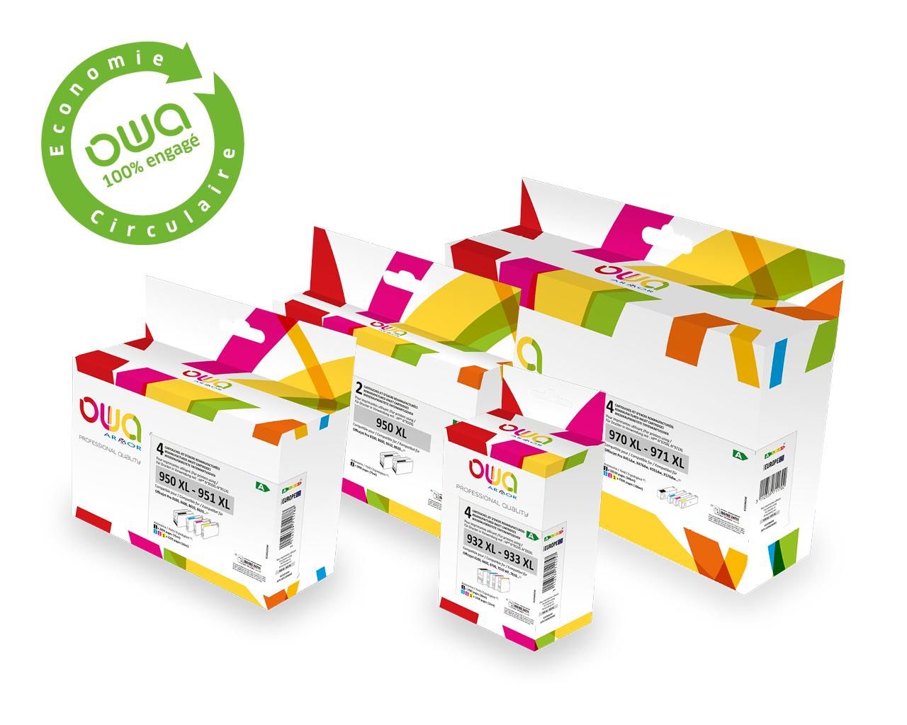 Lancement de la gamme Business Inkjet OWA